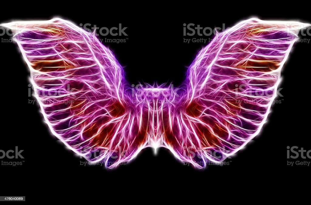 Abstract Wings stock photo