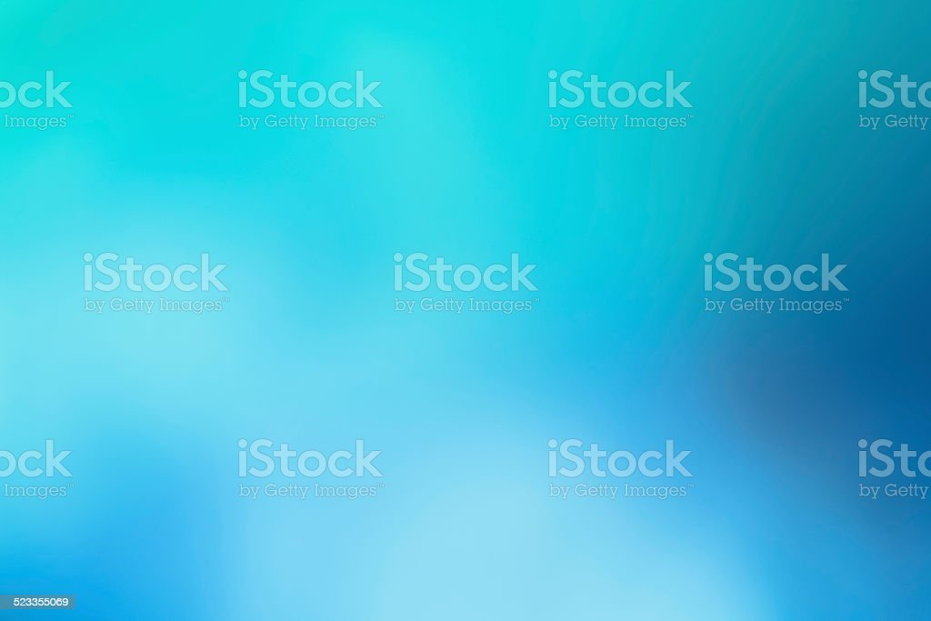 Abstract winter background soft blur turquoise blue & white stock photo