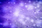 Abstract winter blue background with snowflakes