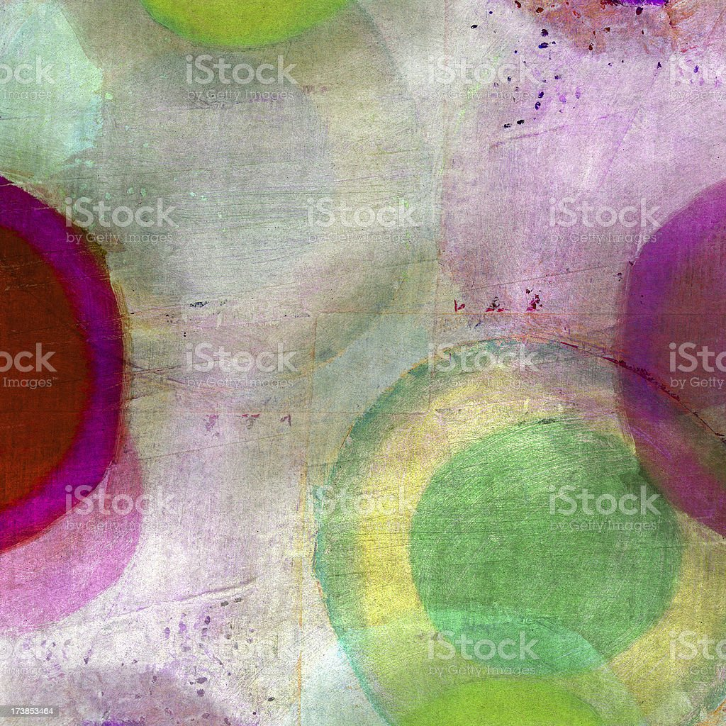 Abstract with Circles royalty-free stock photo