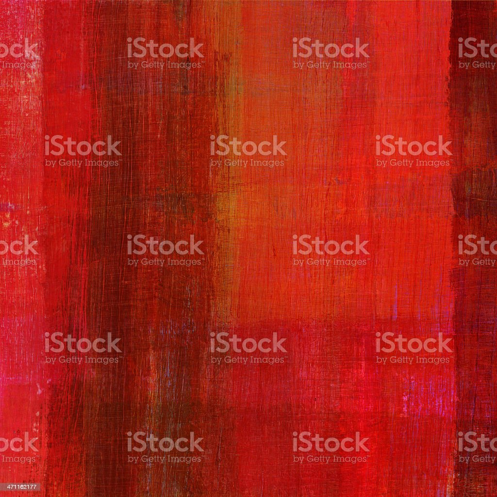 Abstract with Red and Brown royalty-free stock photo