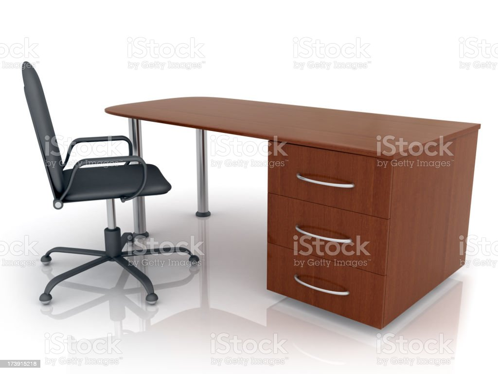 Abstract workplace royalty-free stock photo