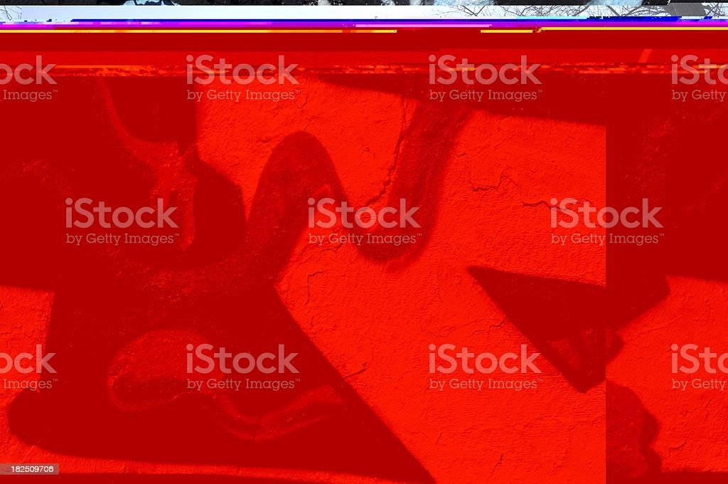 Abstract worms royalty-free stock photo