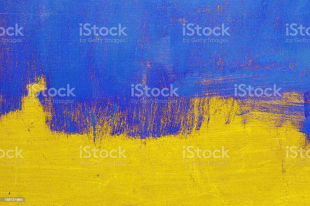 Abstract, yellow and blue  art backgrounds. royalty-free stock photo