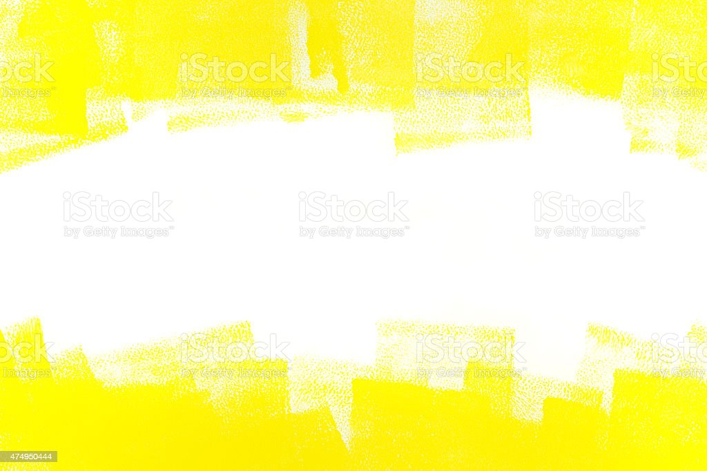 abstract yellow painted background stock photo
