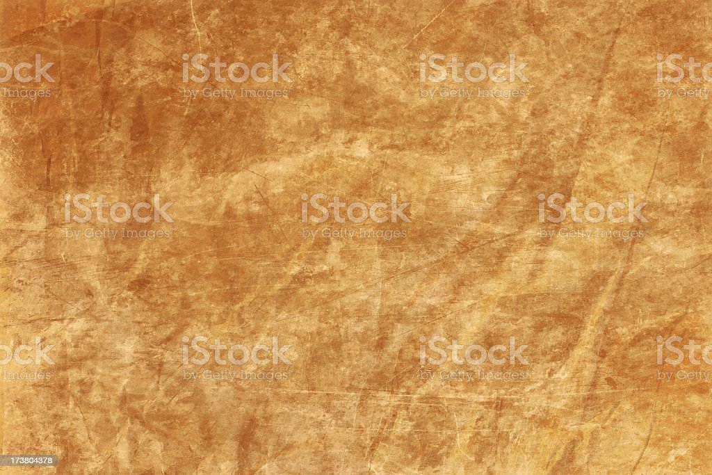 Abstract Yellow Parchment Background Wallpaper stock photo