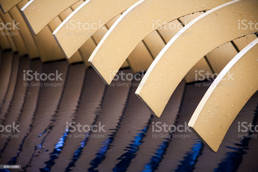abstraction, blades stock photo