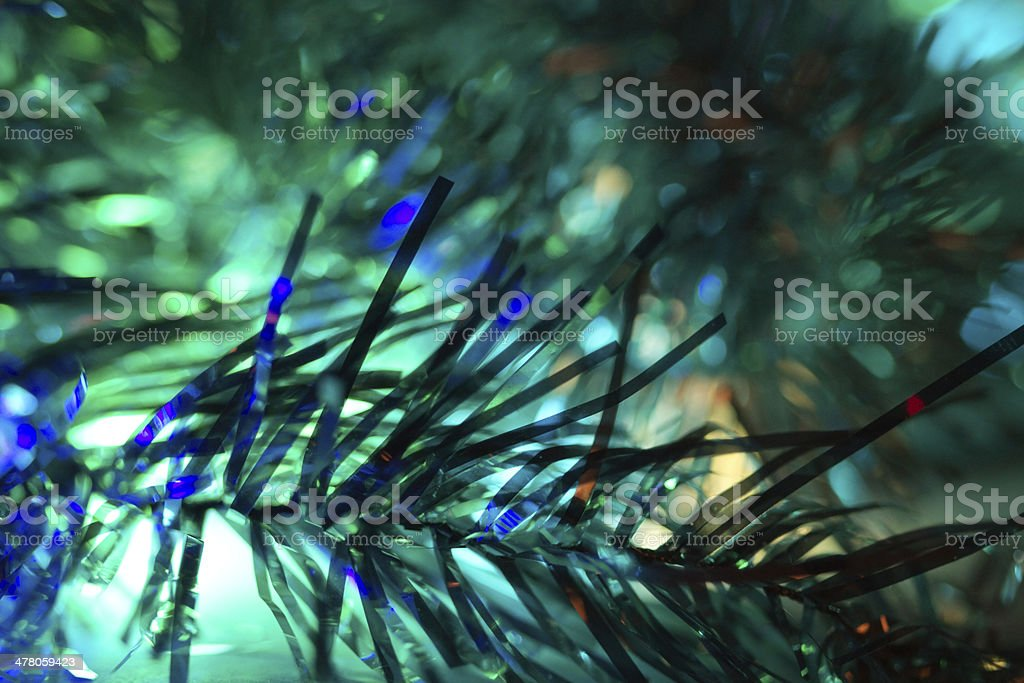 Abstraction blue Christmas background royalty-free stock photo