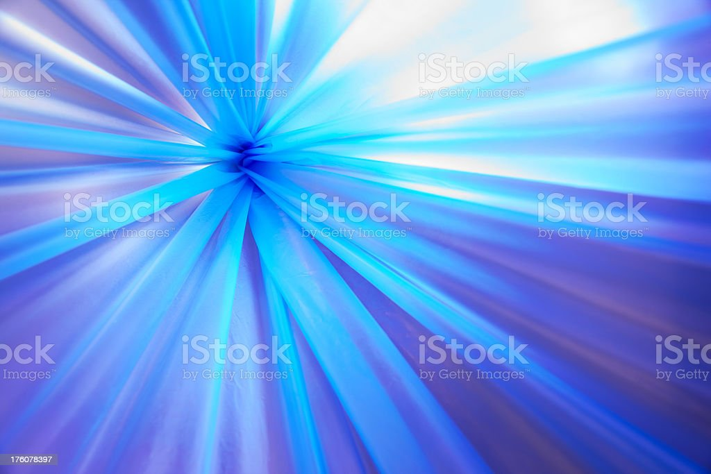 Abstraction blue (polyethylene,light) royalty-free stock photo