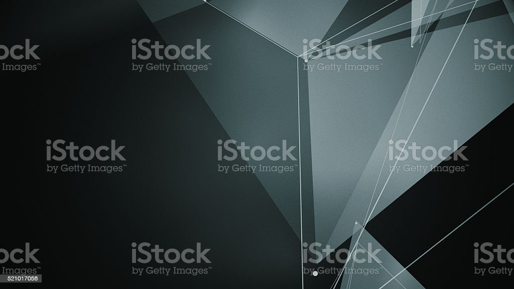 abstraction geometrical composition stock photo