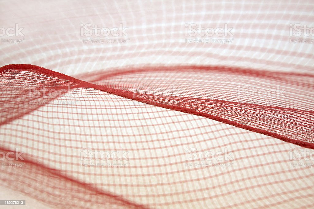 Abstraction in plastic net stock photo