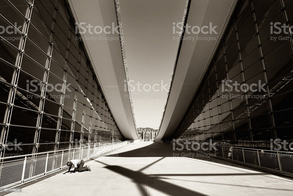Abstracty Modern Architecture royalty-free stock photo
