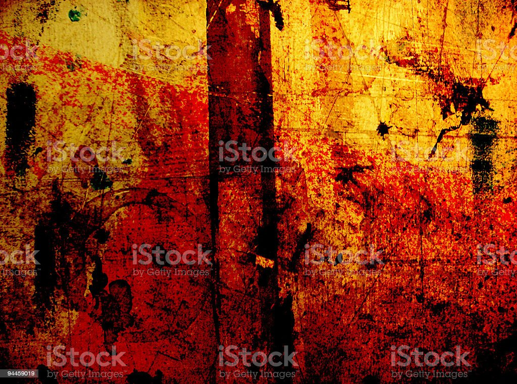 Abstruse Grunge royalty-free stock photo