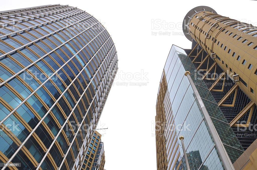 Abu Dhabi Architecture stock photo