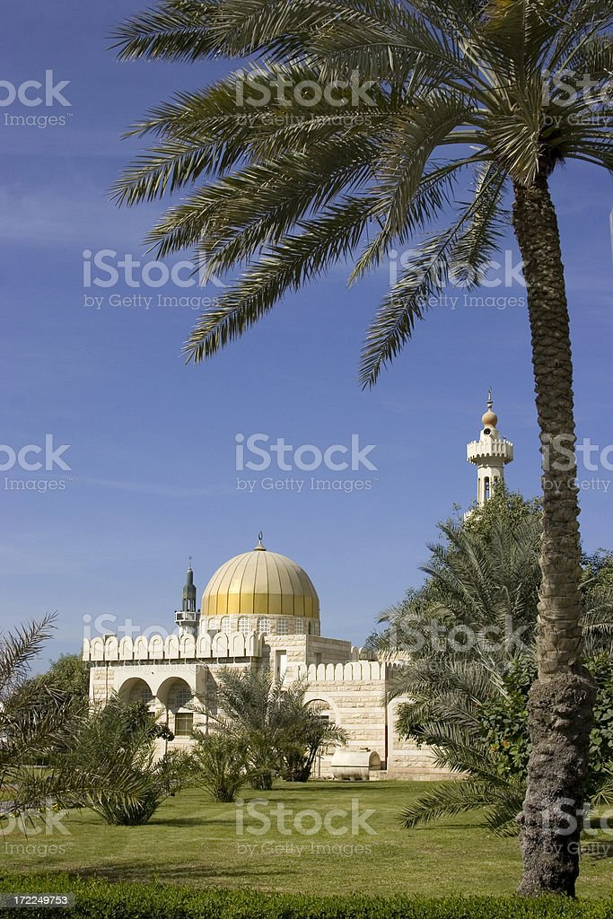 Abu Dhabi mosque royalty-free stock photo