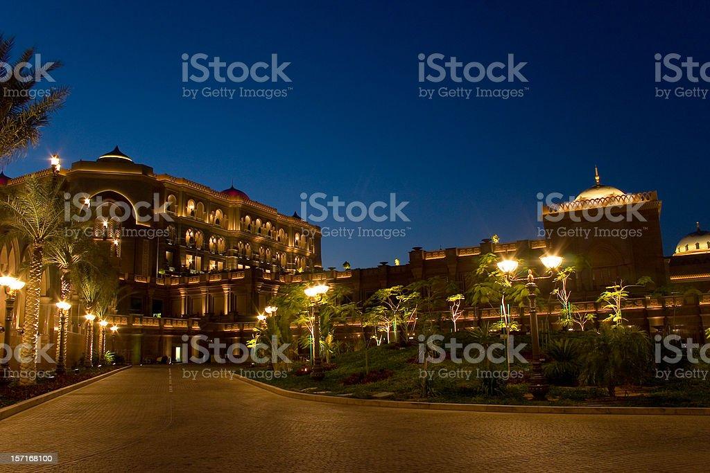 Abu Dhabi Palace 16405 stock photo