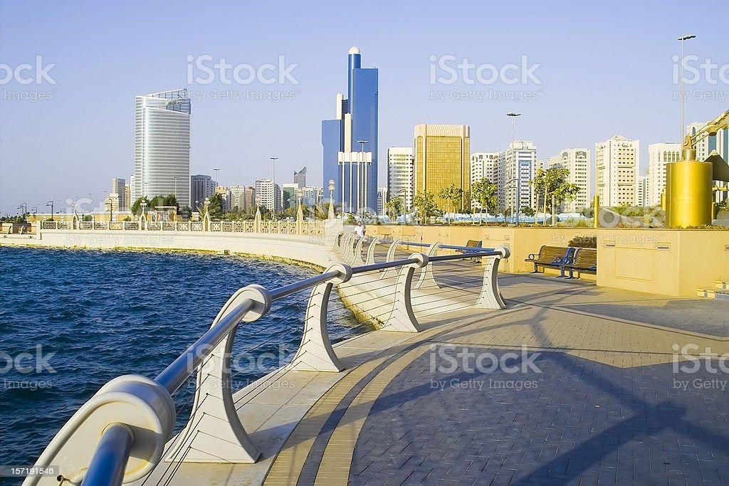Abu Dhabi stock photo