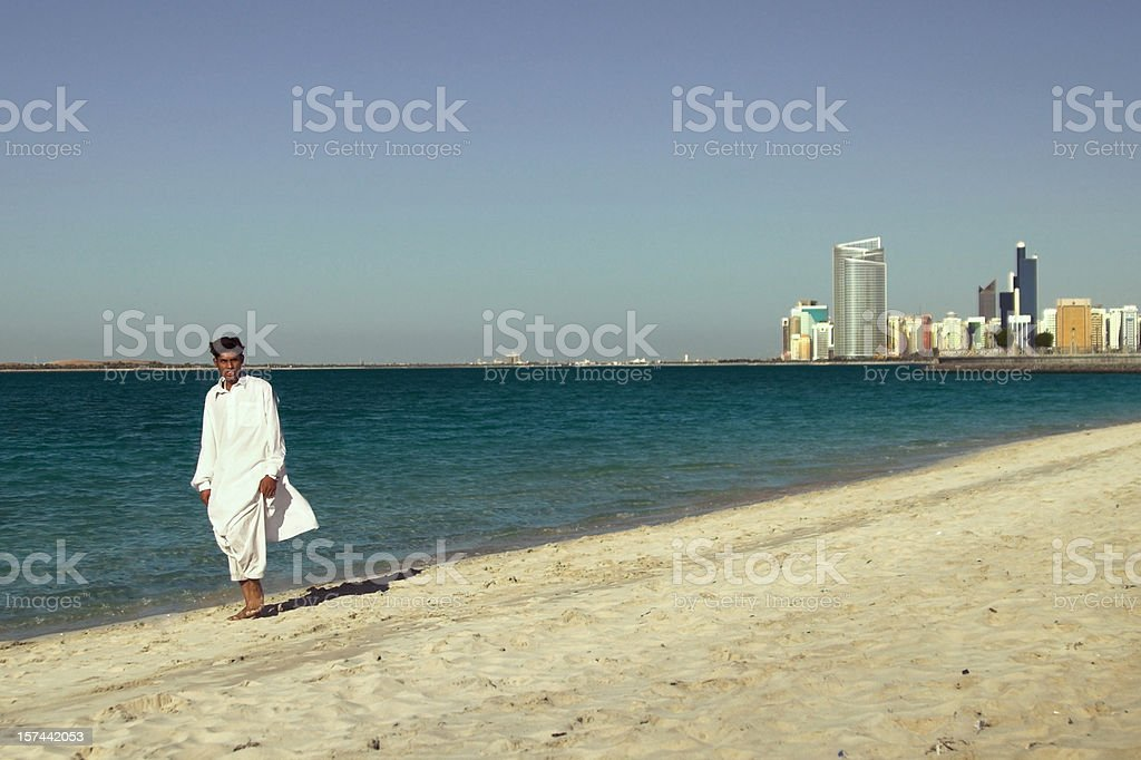 Abu Dhabi royalty-free stock photo
