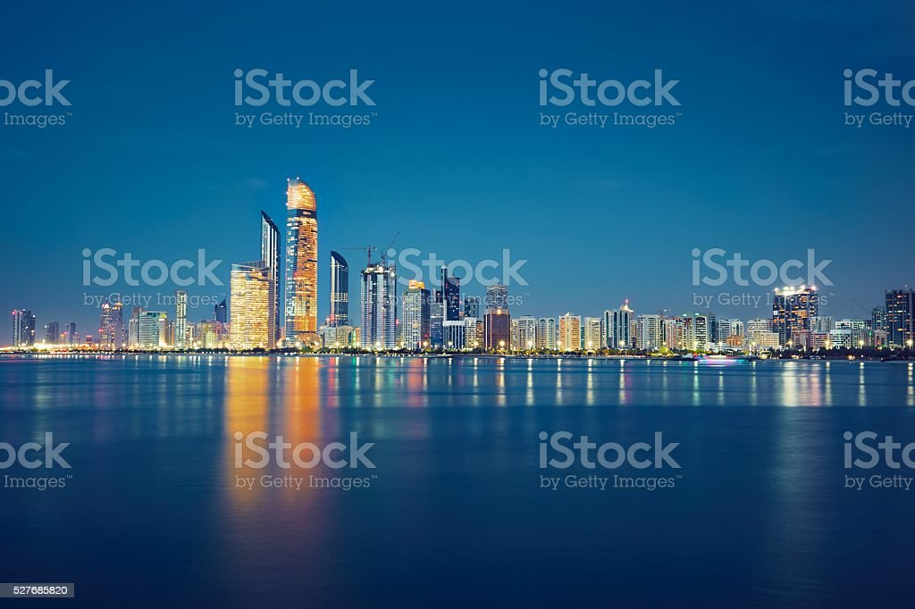 Abu Dhabi stock photo