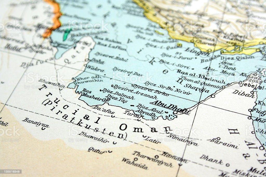 Abu Dhabi, UAE stock photo