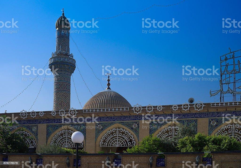 Abu Hanifa Mosque in Baghdad, Iraq stock photo