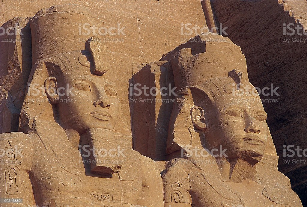 Abu Simbel 1 royalty-free stock photo