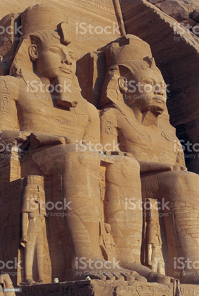 Abu Simbel 2 royalty-free stock photo