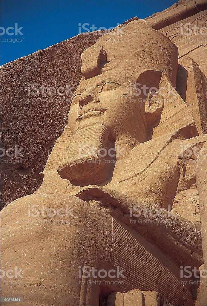 Abu Simbel 3 royalty-free stock photo