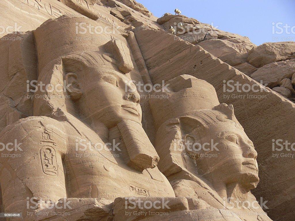 Abu Simbel 7 royalty-free stock photo