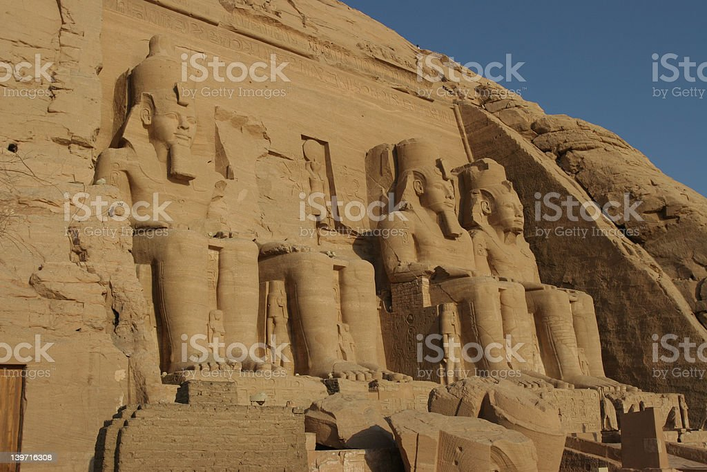 Abu Simbel royalty-free stock photo