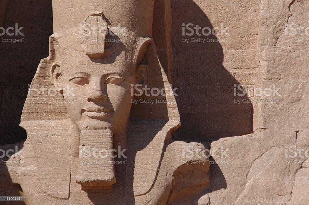 Abu Simbel stock photo