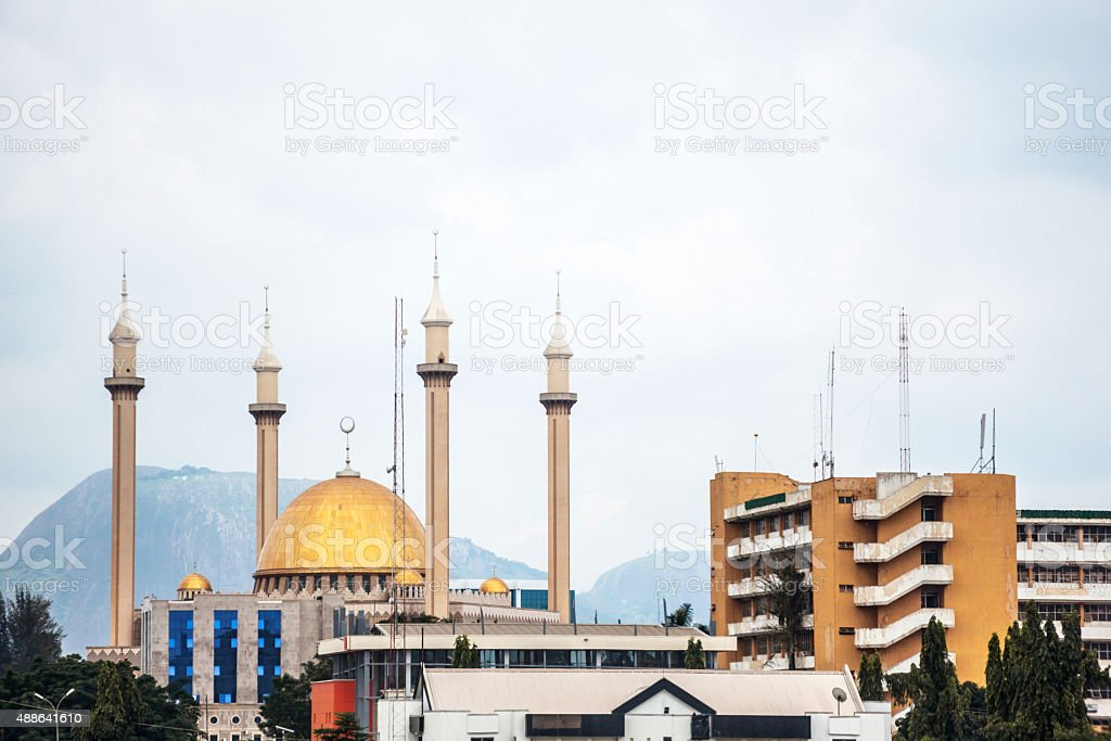 Abuja city, Nigeria. stock photo