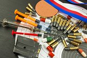 Abuse of anabolic steroids for sports. Deception in biathlon.