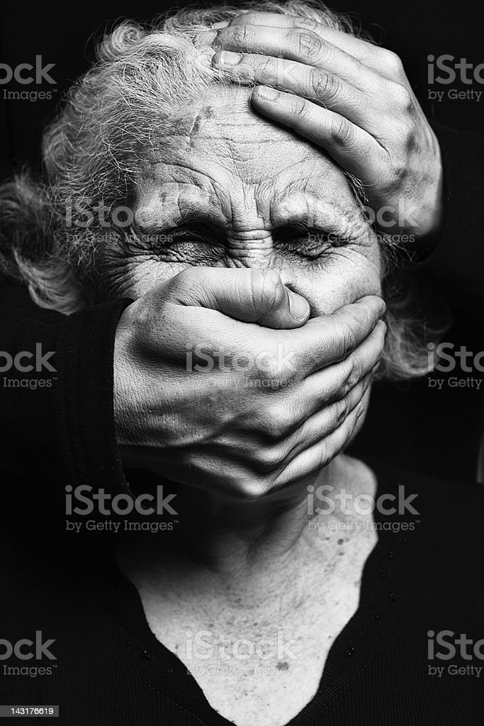 Abuse stock photo