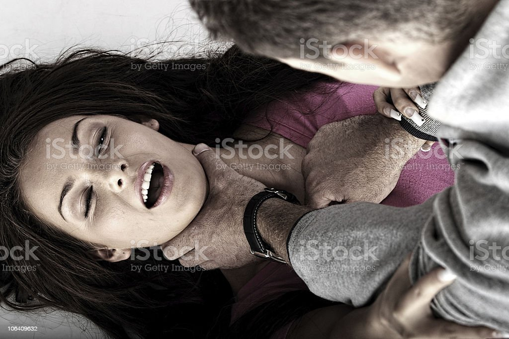 Abused stock photo