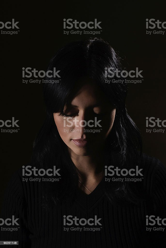 Abused royalty-free stock photo