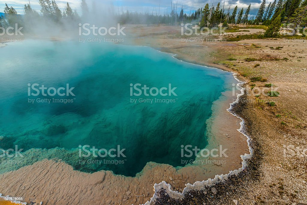Abyss Pool stock photo