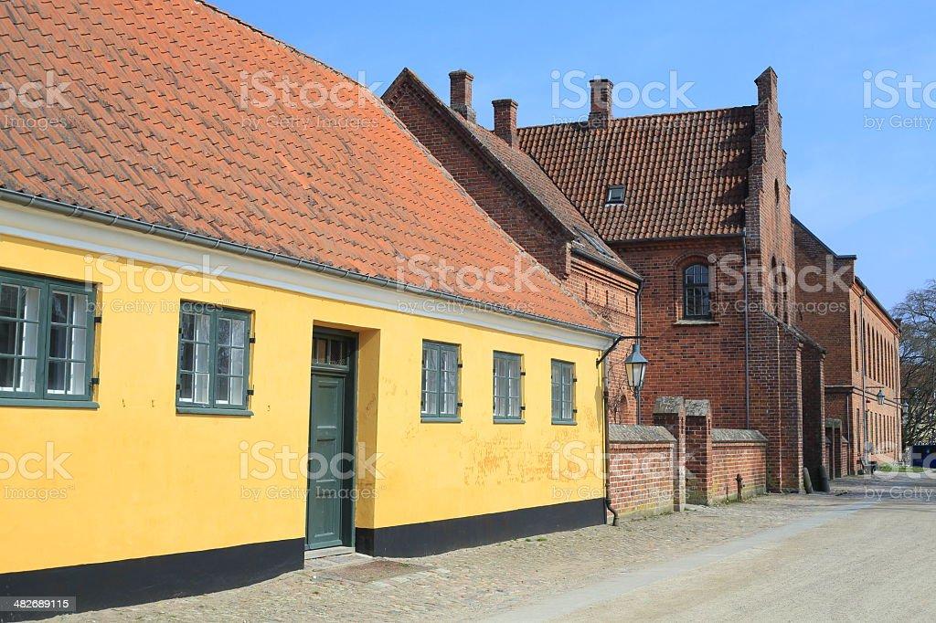 Academia Sorana / Sorø Akademi the gate house stock photo