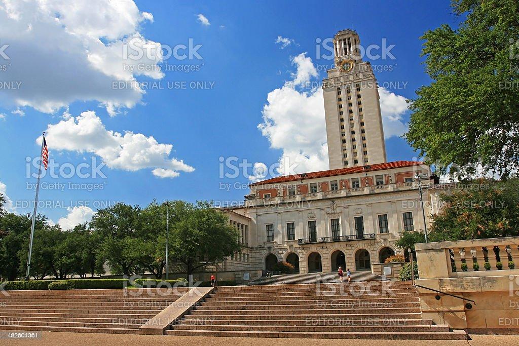 Academic building dome of University of Texas stock photo