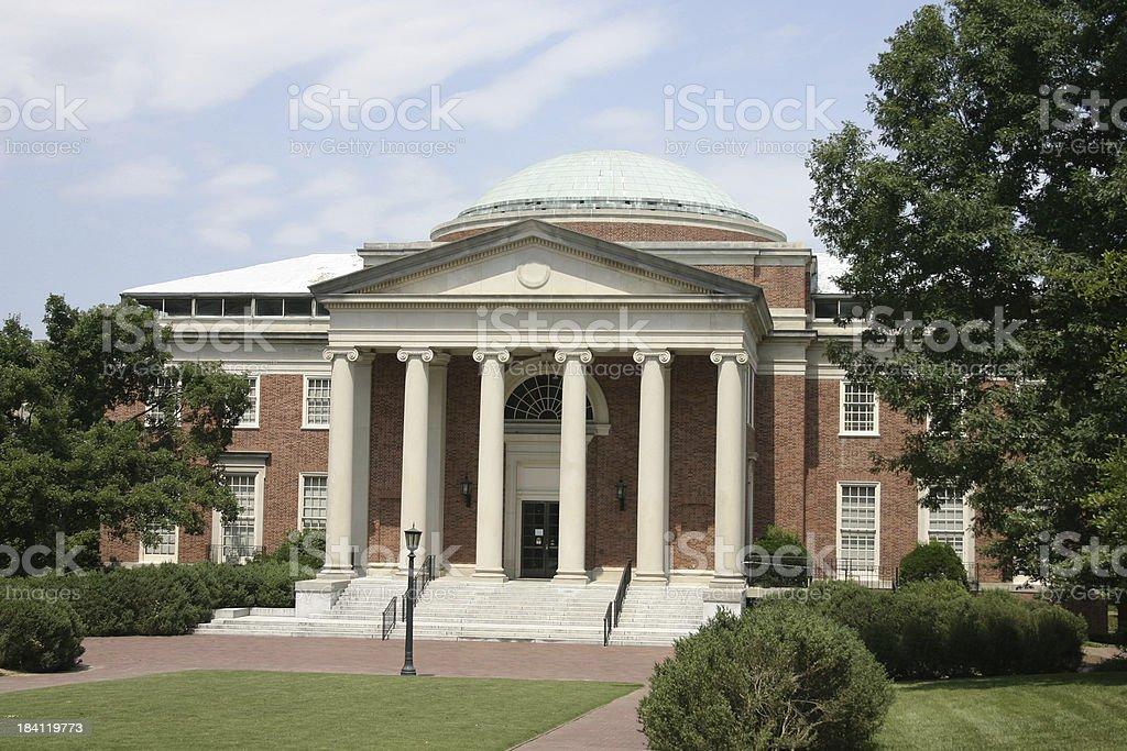 Academic Building stock photo