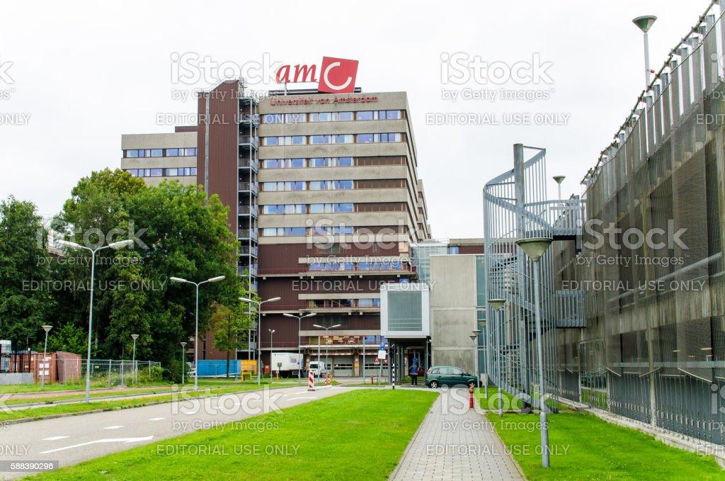 Academic Medical Centre (AMC) in Amsterdam stock photo
