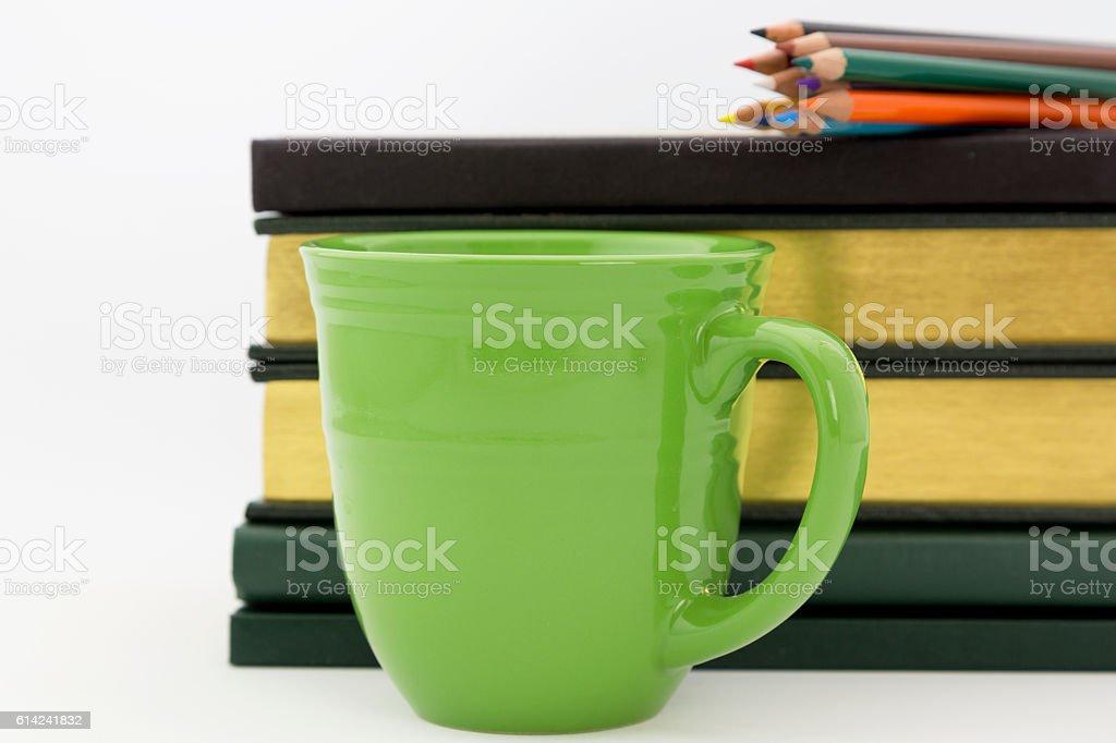 Academic work and study stock photo