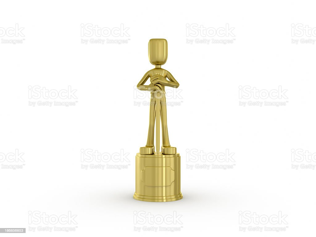 Academy awards. royalty-free stock photo