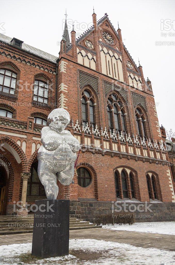 Academy of Art in Riga stock photo