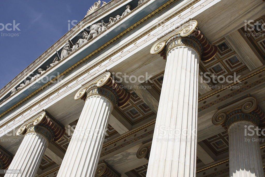 Academy of Athens, Greece stock photo
