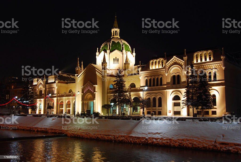 Academy of Fine Arts, Sarajevo stock photo