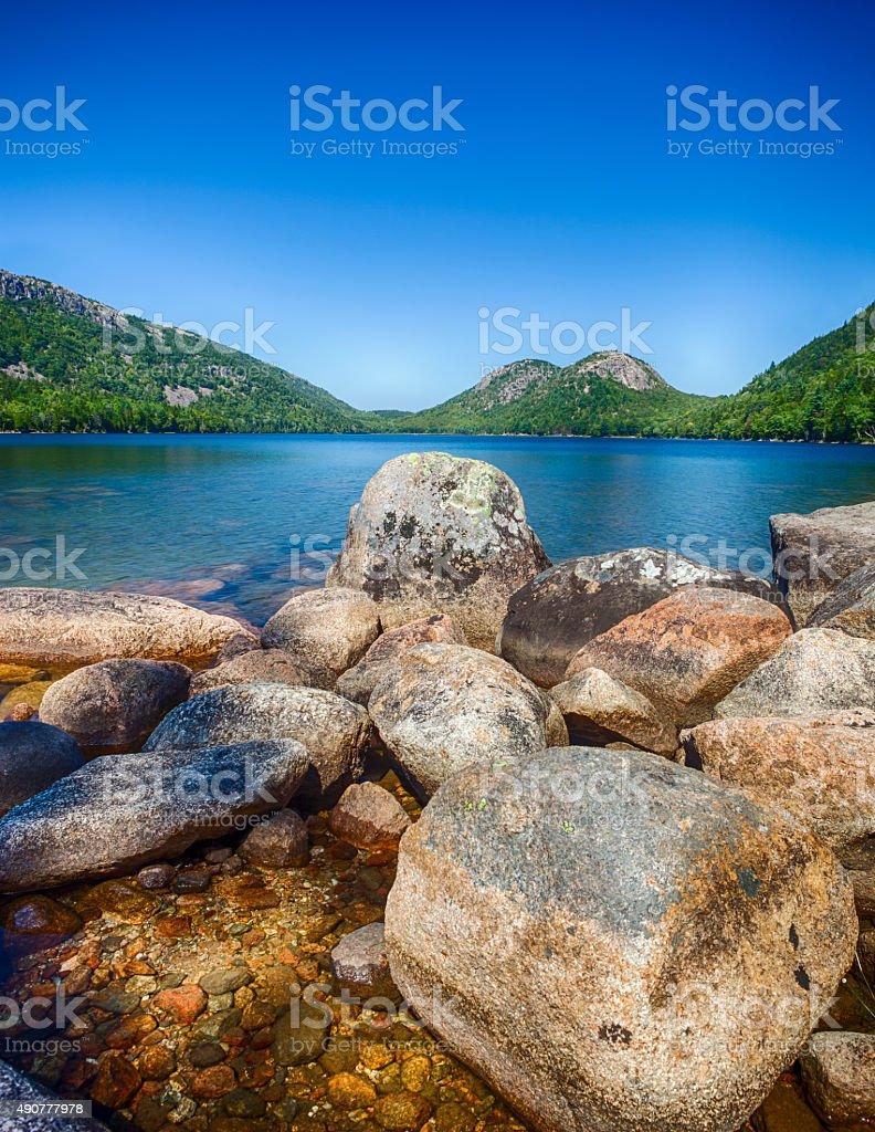Acadia National Park In Maine, USA stock photo