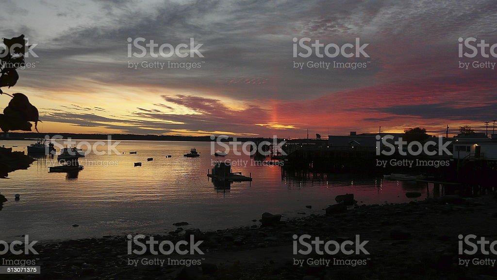 Acadia National Park USA stock photo