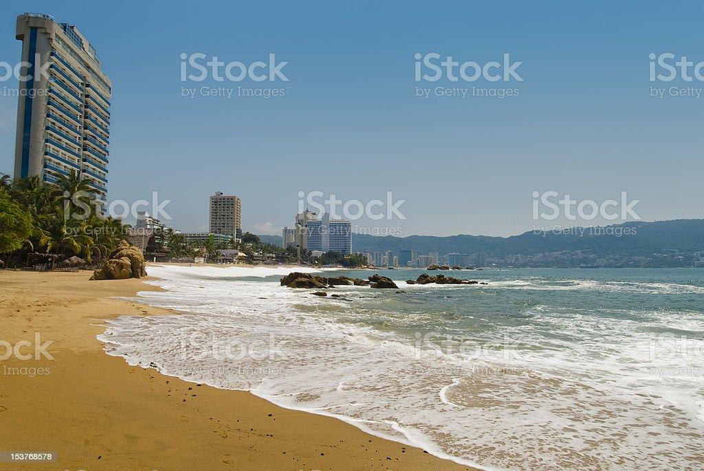 Acapulco Bay stock photo