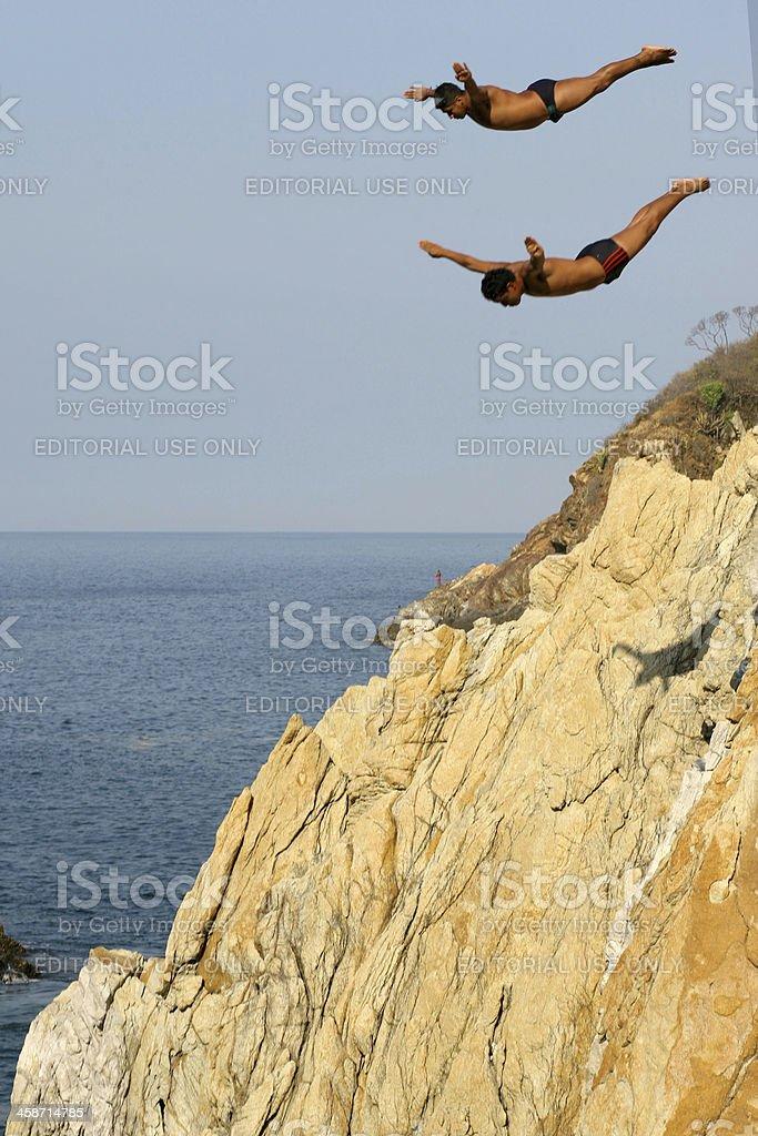 Acapulco Divers stock photo